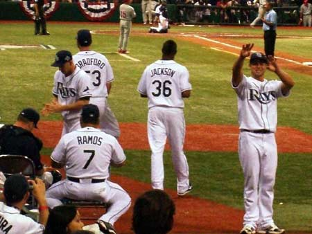 2008 world series, tampa bay rays, tropicana field, the trop, st pete, florida